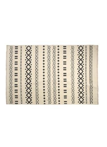 Bella Maison Duo Çift Taraflı Antrasit Kilim (120x180 cm) Antrasit
